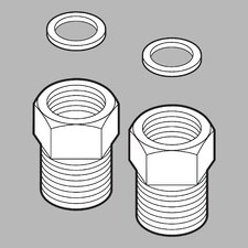 Adapter and Gasket (Set of 2)