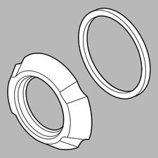 Addison Spout Flange and Gasket