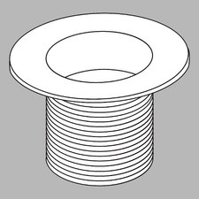 Waste Plug Dome Strainer Drain