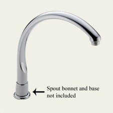Waterfall Faucet Spout with Aerator Assembly