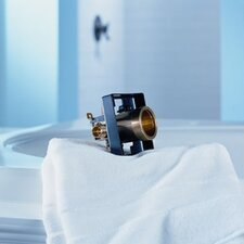 Classic Universal Tub Valve and Shower Valve Body with Universal Connection and Stops