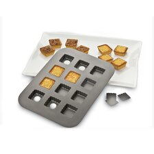 <strong>Amco Houseworks</strong> Lift and Serve Single Squares Pan