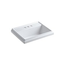 "Tresham Rectangle Self-Rimming Lavatory with 4"" Centers"