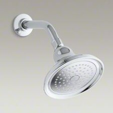 <strong>Kohler</strong> Devonshire 2.5 GPM Single-Function Wall-Mount Showerhead with Masterclean Spray Nozzle