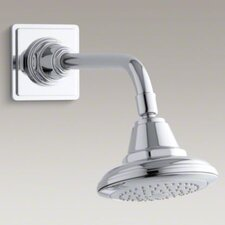 Pinstripe 2.5 GPM Single-Function Wall-Mount Showerhead Katalyst Spray