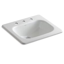 "Tahoe Self-Rimming Lavatory with 8"" Centers"