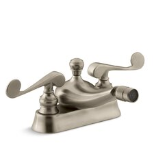 Revival Centerset Bidet Faucet with Scroll Lever Handles