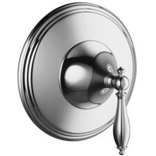 Finial Traditional Thermostatic Valve Trim with Lever Handle, Valve Not Included