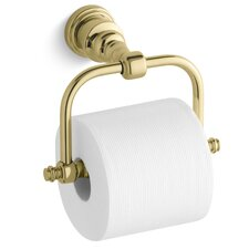 Iv Georges Brass Horizontal Toilet Tissue Holder