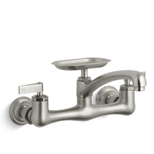 "Clearwater Sink Supply Faucet with 8"" Spout Reach and Lever Handles"
