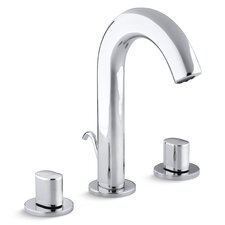 Oblo Widespread Bathroom Faucet with Oval Handles