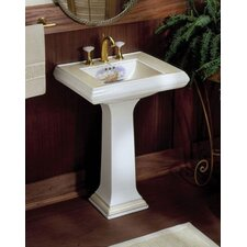 Memoirs Pedestal Bathroom Sink Set