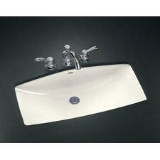 """Man'S Lav Undercounter Lavatory with 8"""" Centers"""