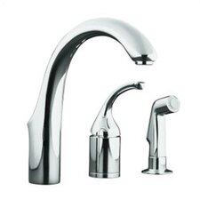 <strong>Kohler</strong> Forté Entertainment Remote Valve Sink Faucet with Sidespray