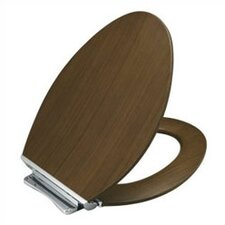 Avantis Quiet-Close Elongated Toilet Seat with Quick-Release Metal Hinges
