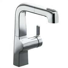 Evoke Single Control Pullout Secondary Kitchen Faucet