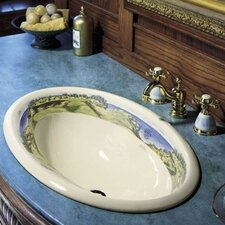 <strong>Kohler</strong> Whistling Straits Design On Centerpiece Self-Rimming Lavatory