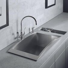 "Swerve 33"" x 18"" Kitchen Sink"