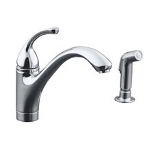 Forté Single-Control Kitchen Faucet with Sidespray and Lever Handle