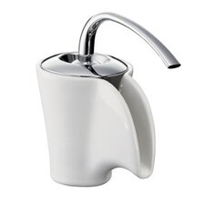 Vas Single-Handle Ceramic Bathroom Sink Faucet with Lever Handle