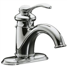 Fairfax Single-Control Lavatory Faucet with Lever Handle and Pop-Up Drain