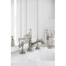 <strong>Kohler</strong> Artifacts Bathroom Faucet with Bell Design Spout and Lever Handles