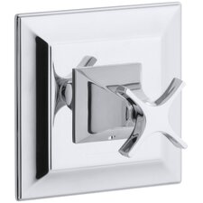 Memoirs Thermostatic Valve Trim with Stately Design and Cross Handle, Valve Not Included
