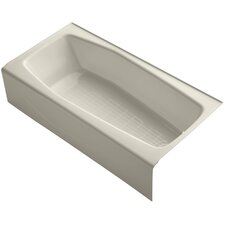 "Villager 60"" X 31"" Alcove Bath with Integral Apron and Right-Hand Drain"