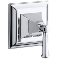 Memoirs Transfer Valve Trim with Stately Design and Faceted Lever Handle, Valve Not Included