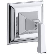 Memoirs Transfer Valve Trim with Stately Design and Deco Lever Handle, Valve Not Included
