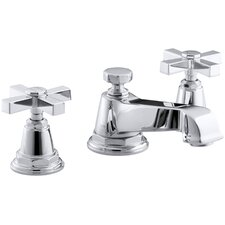 Pinstripe Pure Widespread Lavatory Faucet with Cross Handles