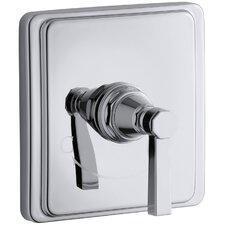 Pinstripe Pure Thermostatic Valve Trim, Lever Handle, Valve Not Included