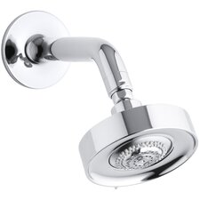 Purist 2.5 GPM Multifunction Wall-Mount Showerhead with Arm and Flange