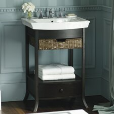 "Archer Pedestal Lavatory Basin with 8"" Centers"