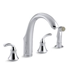 Forté Widespread Kitchen Faucet