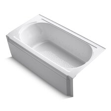 "Memoirs 60"" X 34"" Alcove Bubblemassage Air Bath with Right-Hand Drain"