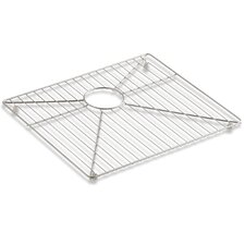 "Vault 11 1/5"" Bottom Sink Rack for 36"" Offset Apron Front Sink"