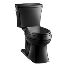 Kelston Comfort Height Two-Piece Elongated 1.28 Gpf Toilet with AquaPiston Flush Technology and Left-Hand Trip Lever