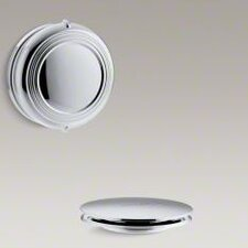Pureflo Traditional Rotary Turn Bath Drain Trim
