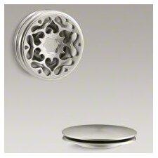 PureFlo Victorian Push Button Bath Drain Trim