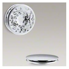 PureFlo Victorian Push Button Bath Drain Trim