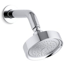 Stillness 2.5 GPM Single-Function Wall-Mount Showerhead with Arm and Flange