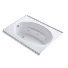 "Windward 60"" X 42"" Alcove Whirlpool Bath with Integral Tile Flange and Left-Hand Drain"