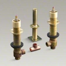 "1/2"" Ceramic High-Flow Valve with Rigid Connections"