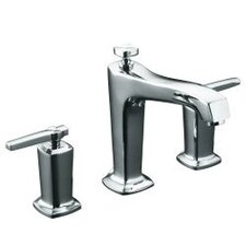 Double Handle Deck Mount Tub Only Faucet Trim