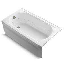 "Memoirs 60"" X 34"" Alcove Bubblemassage Air Bath with Left-Hand Drain"