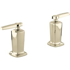 Margaux Deck-Mount High-Flow Bath Valve Trim with Lever Handles, Valve Not Included