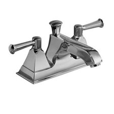 Memoirs Centerset Bathroom Faucet with Double Lever Handles