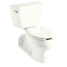 Barrington 1.4 Gpf Pressure Lite Toilet with Left-Hand Trip Lever and Toilet Tank Locks