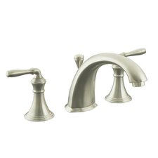 Devonshire Double Handle Deck Mount Tub Only Faucet Trim